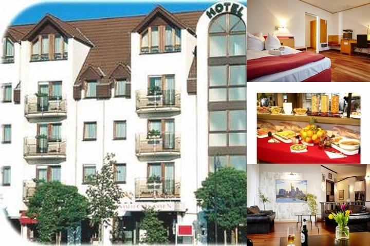 Hotel Komfort Stadt Frankfurt Karben photo collage