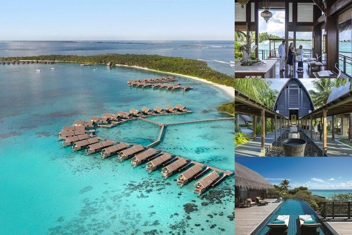 Shangri La's Villingili Resort & Spa Maldives photo collage