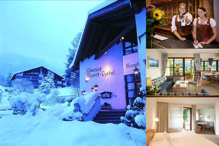 Dorint Sporthotel Garmisch Partenkirchen photo collage