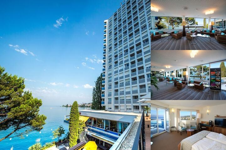 Eurotel Montreux photo collage