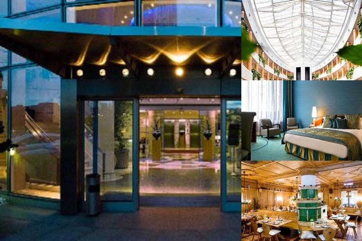 Sofitel Luxembourg Europe photo collage