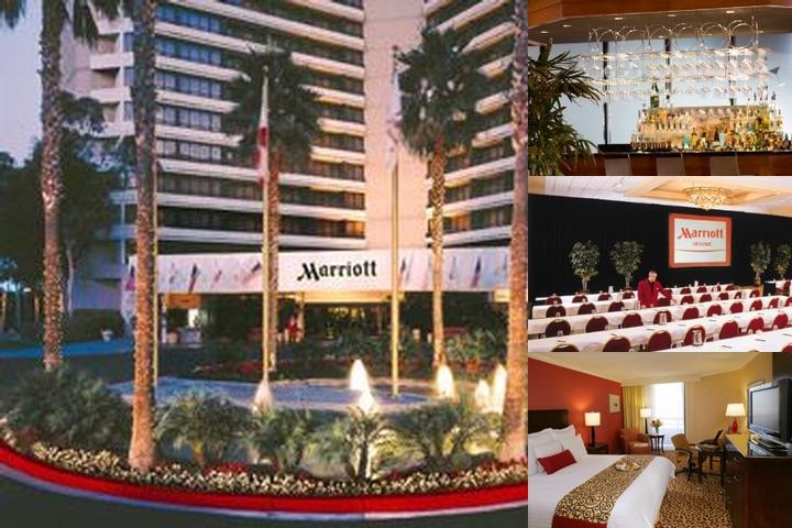 Irvine Marriott photo collage