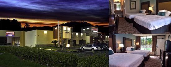 Springfield Hotel & Suites photo collage