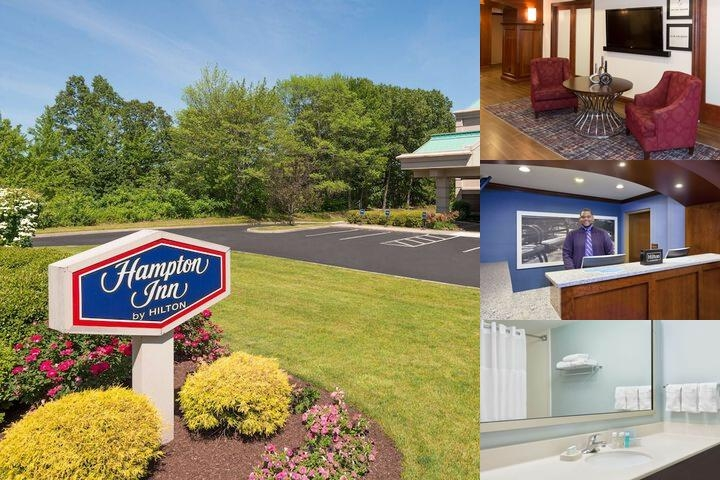 Hampton Inn Hartford Airport photo collage