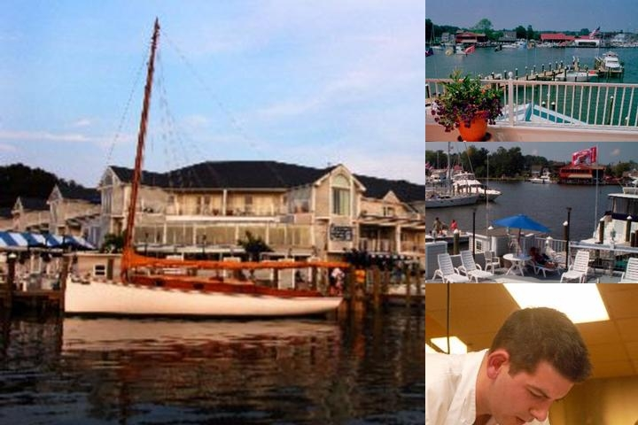St. Michaels Harbour Inn Marina & Spa photo collage