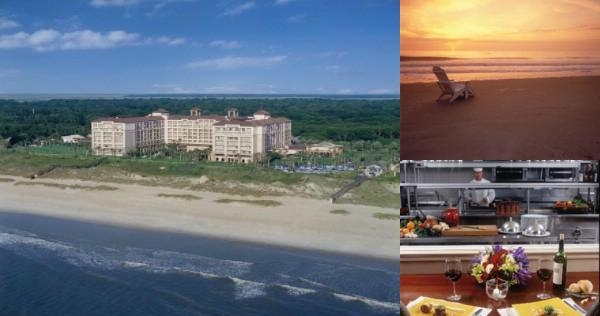 The Ritz Carlton Amelia Island photo collage