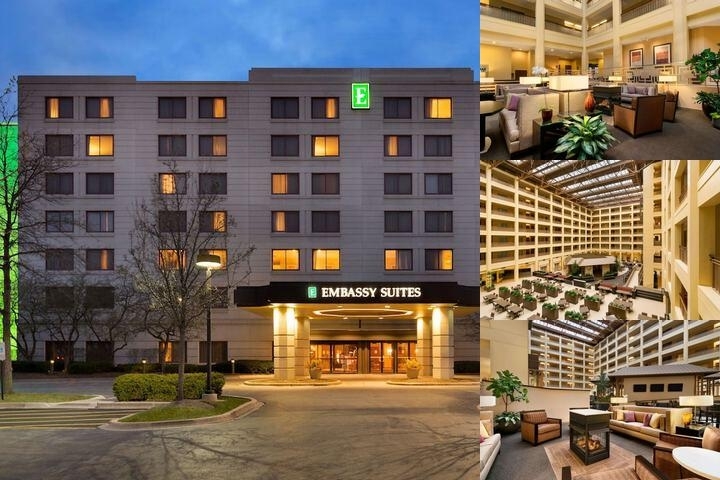 Embassy Suites Chicago North Shore / Deerfield photo collage