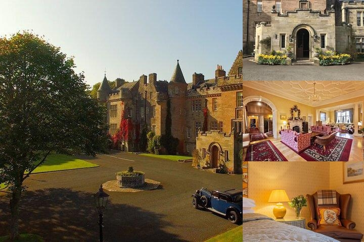 Glenapp Castle photo collage