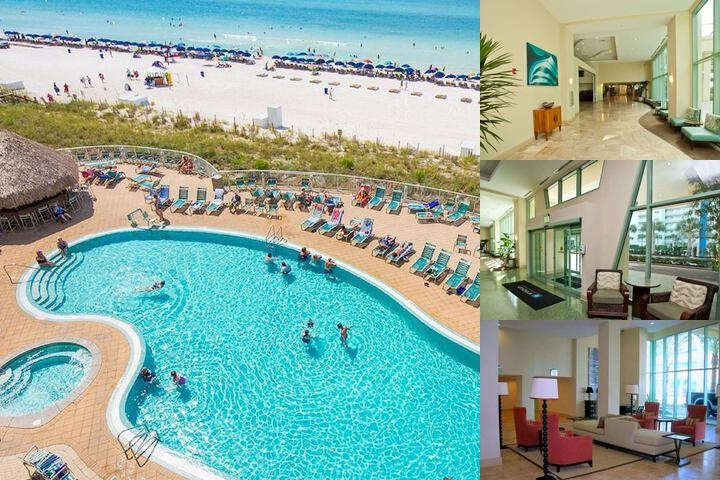 Emerald Beach Resort photo collage