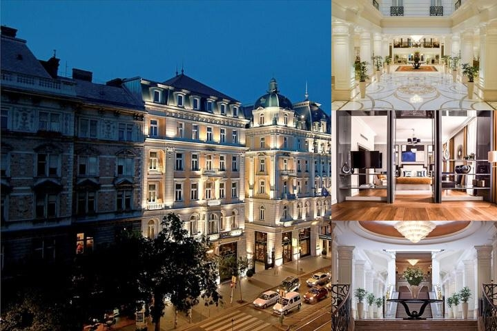 Corinthia Hotel Budapest photo collage