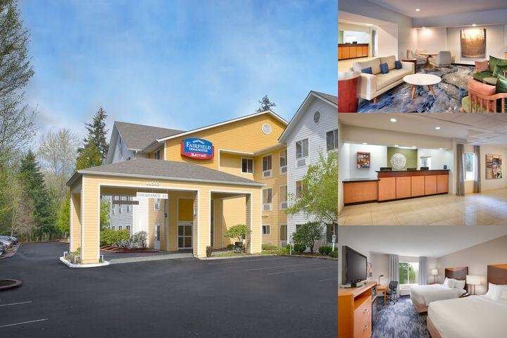 Fairfield Inn Bellevue photo collage