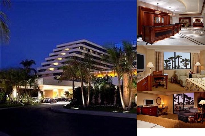 Fairmont Newport Beach photo collage