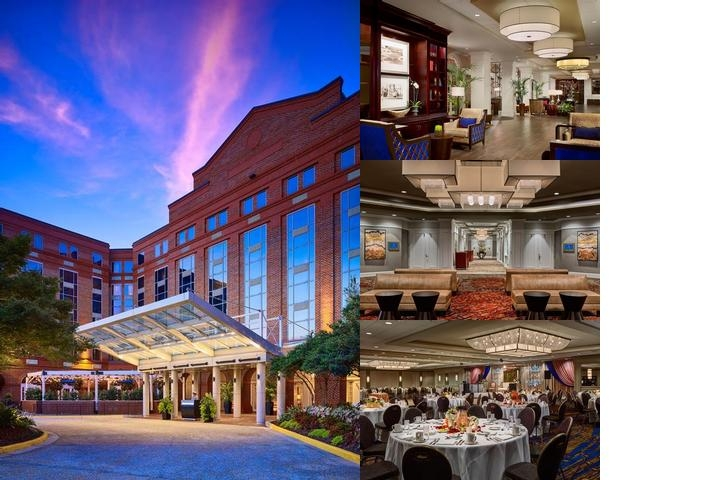 The Hotel at Auburn University photo collage