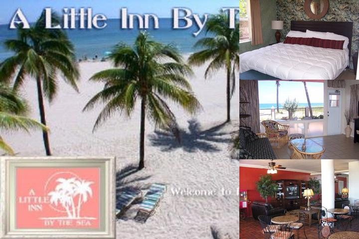 A Little Inn by The Sea photo collage