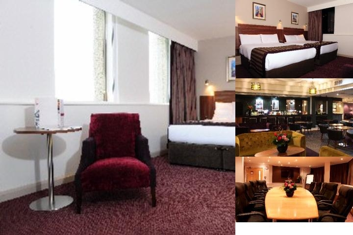 Jurys Inn Birmingham photo collage