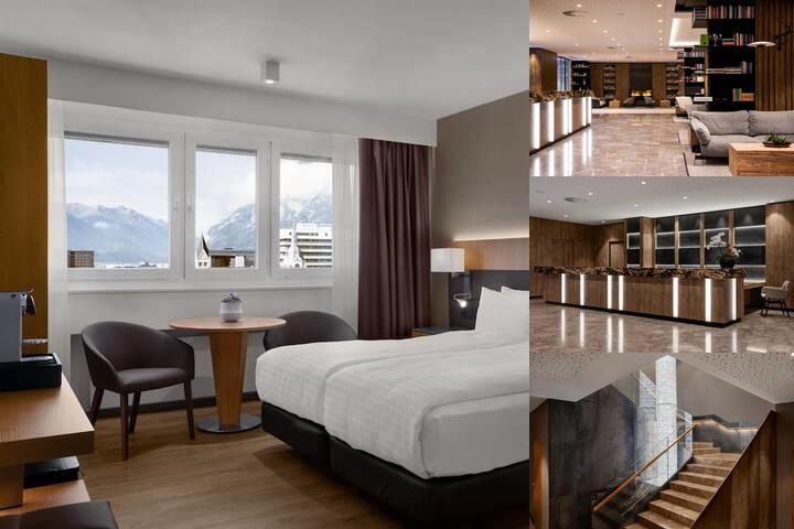 Hilton Innsbruck photo collage
