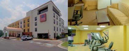Comfort Suites Atlanta Airport photo collage