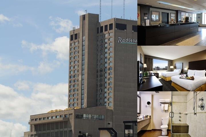 Radisson Hotel Winnipeg Downtown photo collage