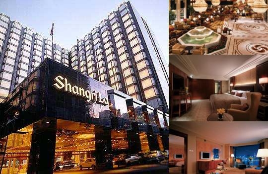 Kowloon Shangri La Hong Kong photo collage