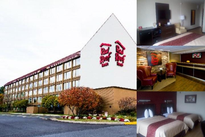 Red Roof Inn Boston Woburn photo collage