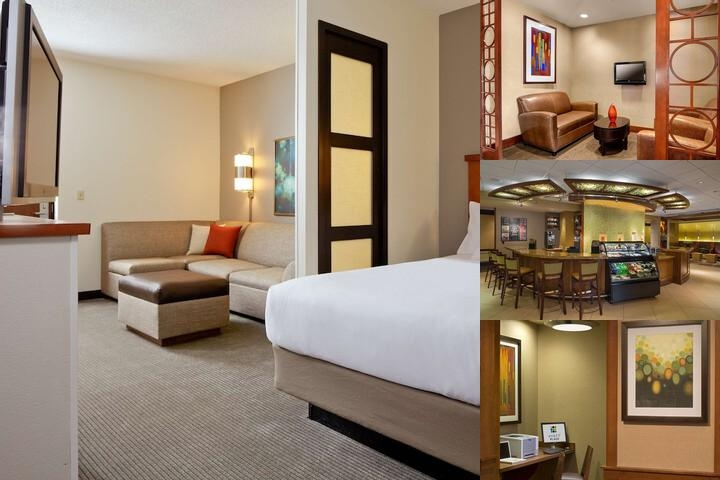 Hyatt Place Charlotte Lake Pointe photo collage