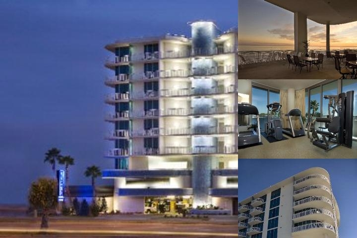 South Beach Biloxi Hotel photo collage