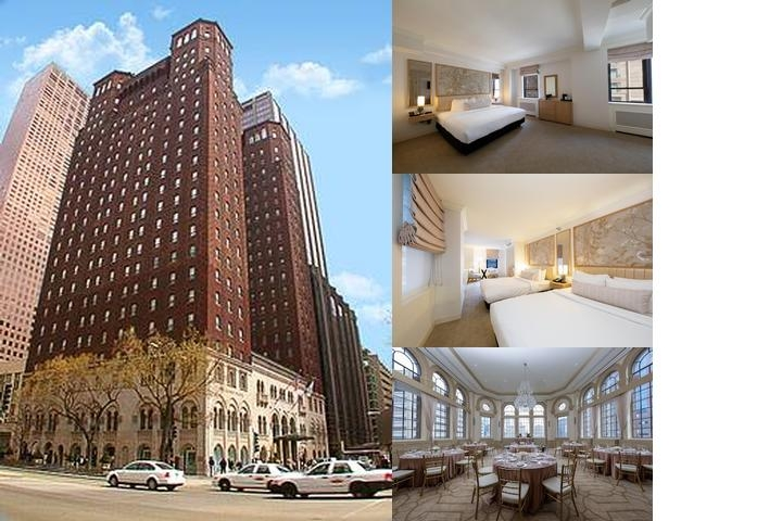 Warwick Allerton Hotel Chicago photo collage
