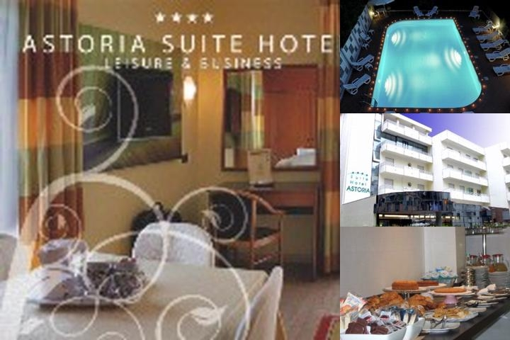 Astoria Suite Hotel photo collage