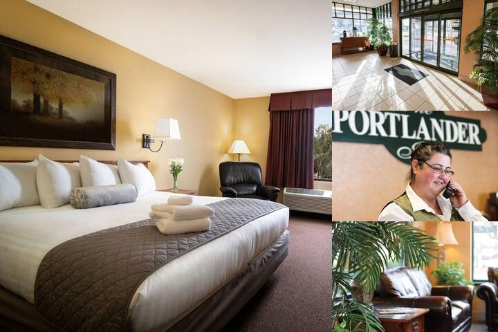 The Portlander Inn photo collage