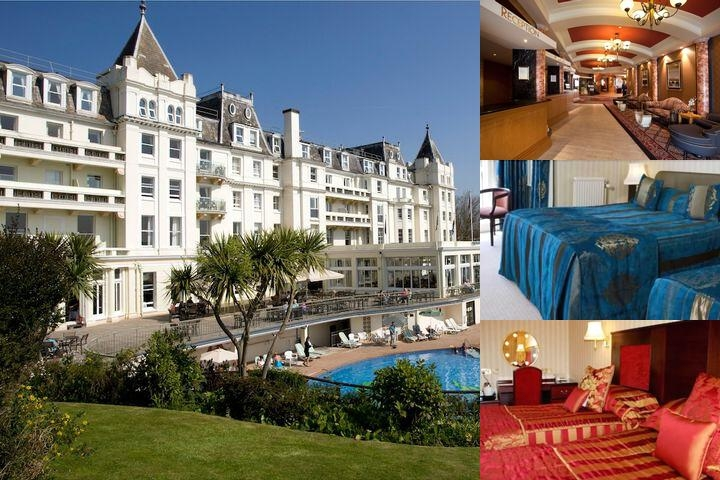 The Grand Hotel photo collage