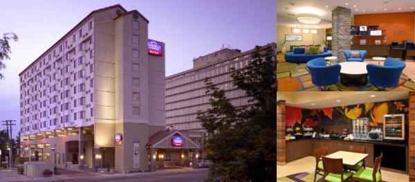 Fairfield Inn & Suites Marriott Denver photo collage