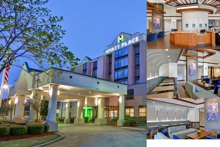 Hyatt Place Memphis Wolfchase photo collage