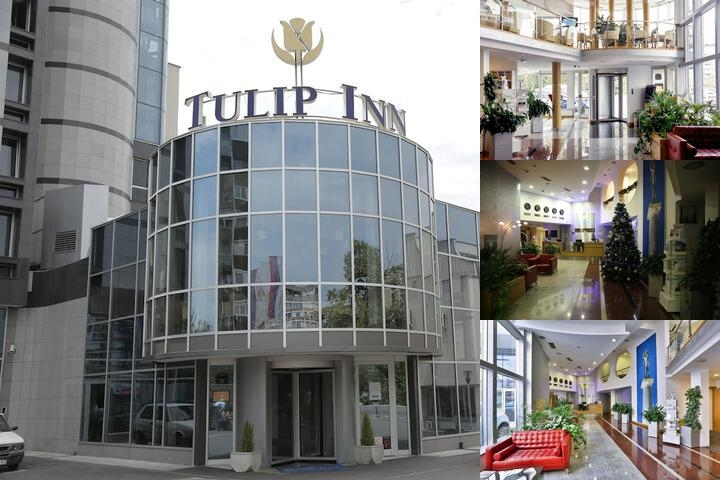 Tulip Inn Putnik Belgrade photo collage