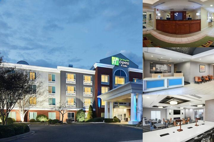 Holiday Inn Express I26 photo collage