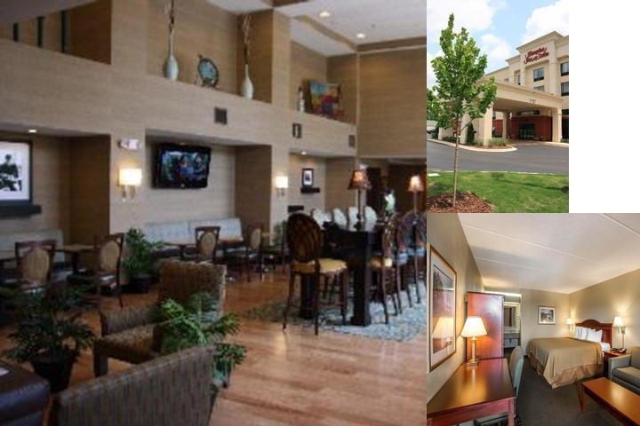Hampton Inn & Suites Birmingham Airport Area photo collage