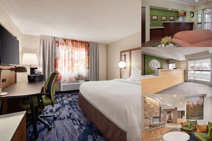Fairfield Inn by Marriott Scranton photo collage