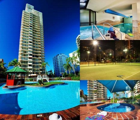 Beach Haven Resort photo collage