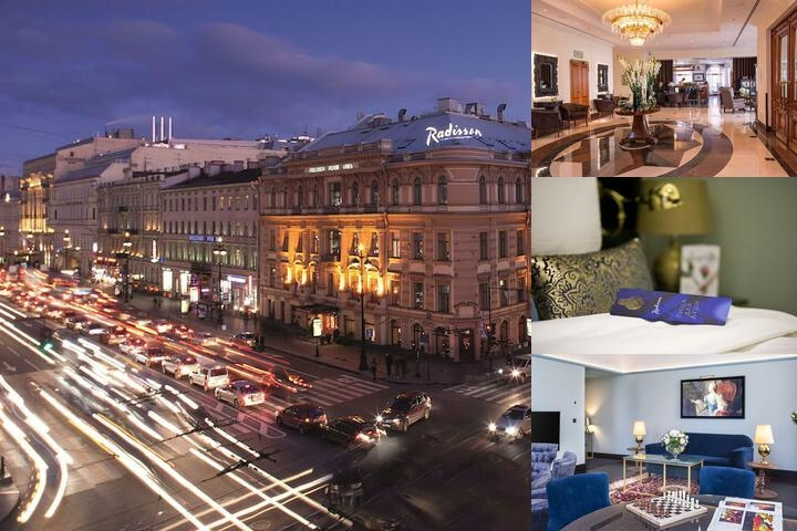 Radisson Royal Hotel St. Petersburg photo collage