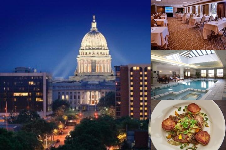 Madison Concourse Hotel & Governor's Club photo collage
