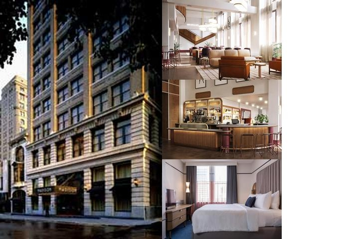 Madison Hotel photo collage