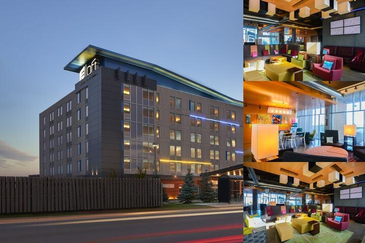 Aloft Vaughan Mills by Starwood Hotels & Resorts photo collage