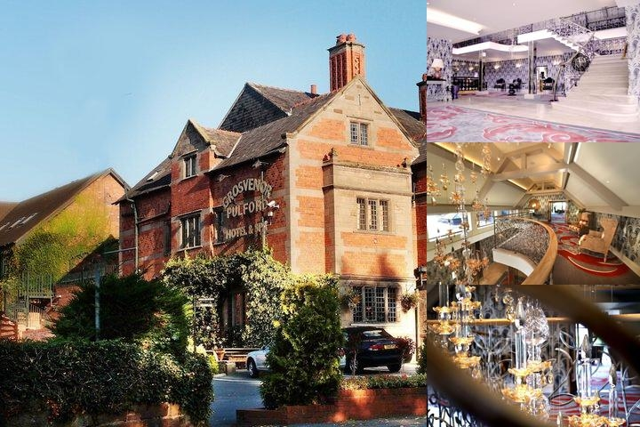 The Grosvenor Pulford Hotel & Spa photo collage