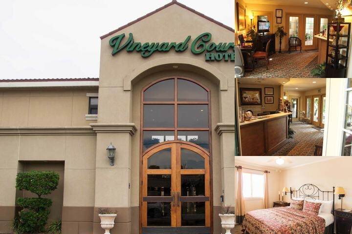 Vineyard Court Hotel photo collage