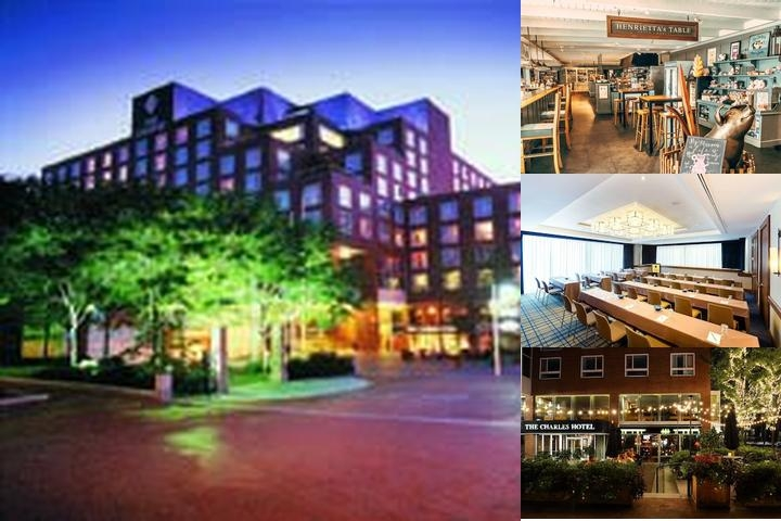 The Charles Hotel photo collage
