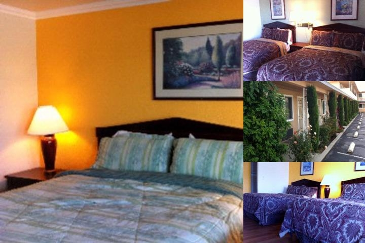 Holiday Motel photo collage