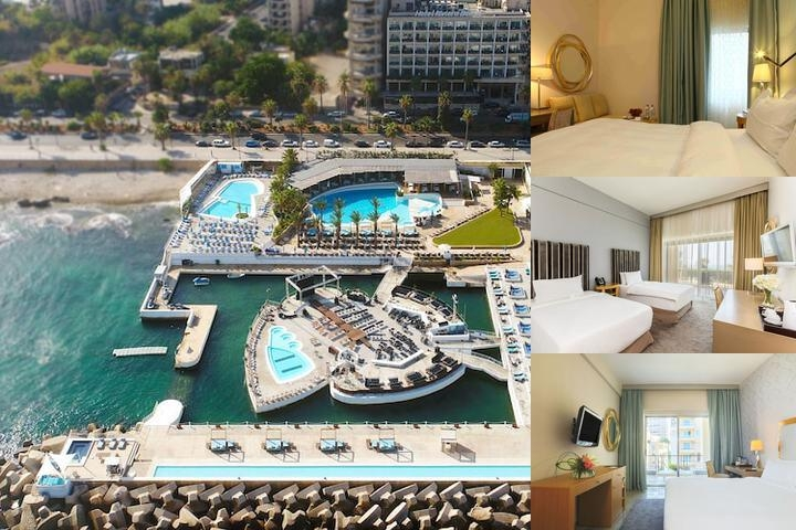 Riviera Hotel Beirut photo collage