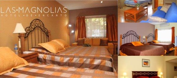 Las Magnolias Hotel photo collage