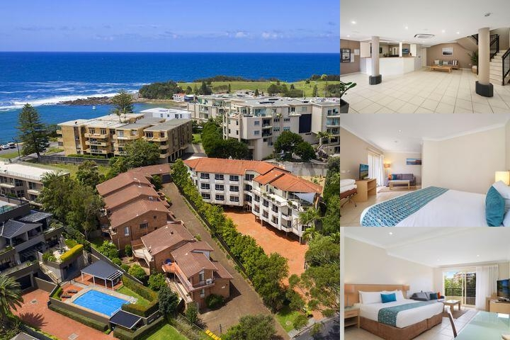 Terrigal Sails Serviced Apartments photo collage