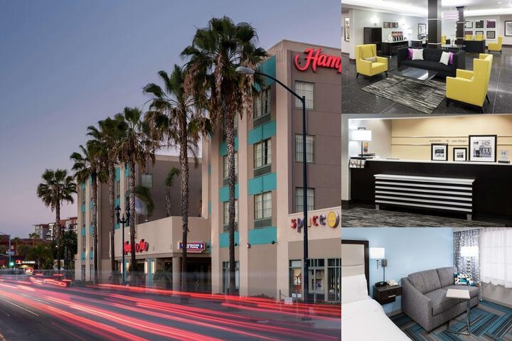 Hampton Inn Downtown San Diego photo collage