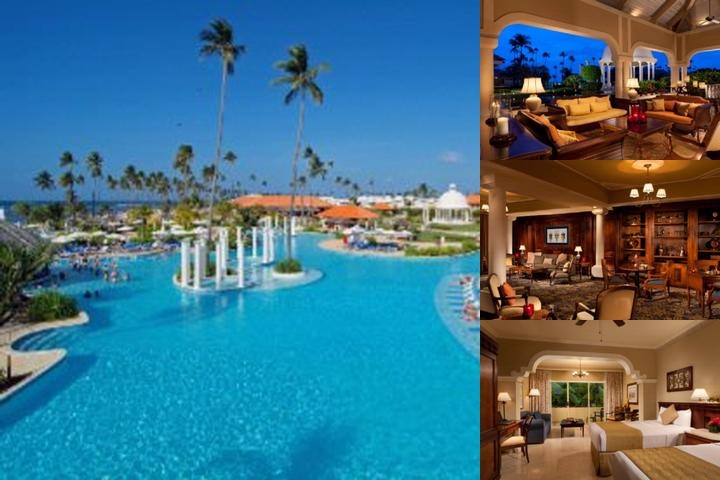 Gran Melia Golf Resort Puerto Rico photo collage